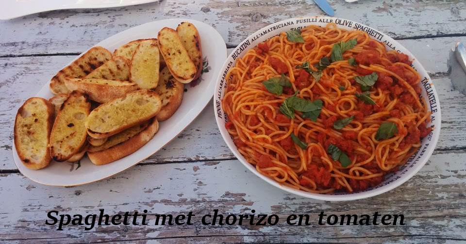Spaghettichorizotomaten
