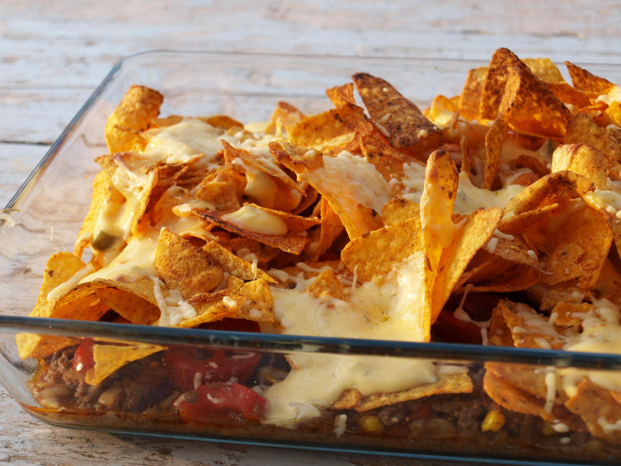 Populair Nachos met gehakt | Aniek's Kitchen @VC35